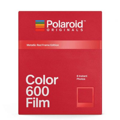 Color Film for 600 Metallic Red Frame Edition
