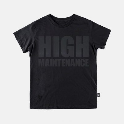 Camiseta High Maintenance Negra