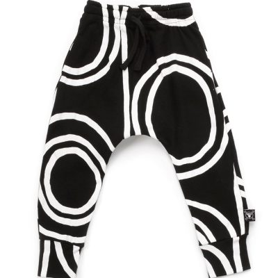 Pantalon anchos círculos
