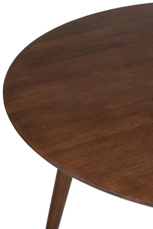 Mesa redonda vintage madera