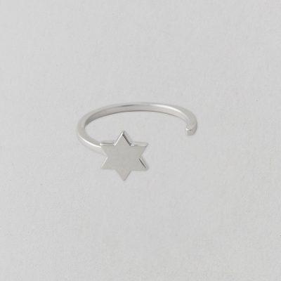 Anillo Estrella Plata